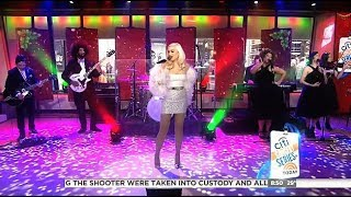 Gwen Stefani - Interview & Performs Santa Baby - Today Show