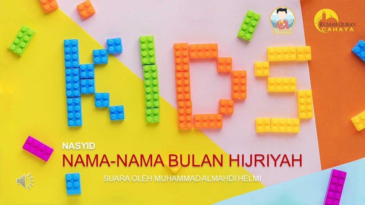 Nasyid Tanpa Musik Nama Bulan Hijriyah   Almahdi   YouTube