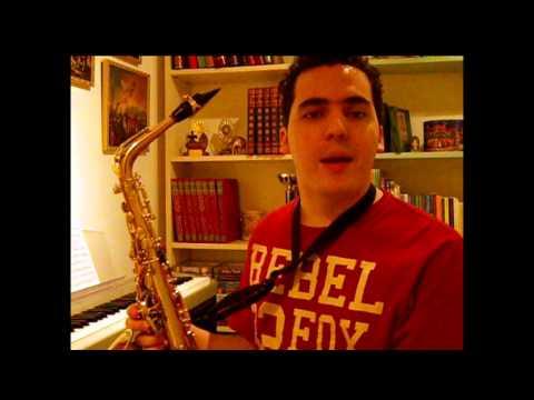¡Mi primer Saxofón! Lección para principiantes