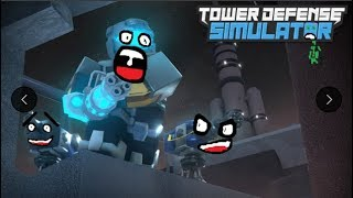 ROBLOX INDONESIA | Main TOWER DEFENSE Simulator almost wins even LESS!!!!!!