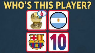 WHO'S THIS PLAYER!? | FOOTBALL QUIZ