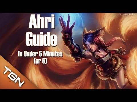 Ahri Guide | Learn To Play Ahri In 5 Minutes | League Of Legends Guide