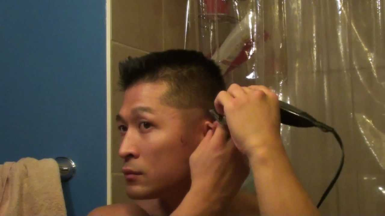 Hairstyle at home for small hair trimmers