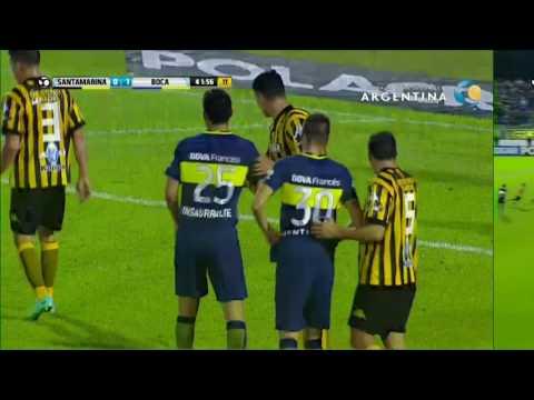 Santamarina 1 - 2 Boca Juniors - 16vos de final Copa Argentina 2016