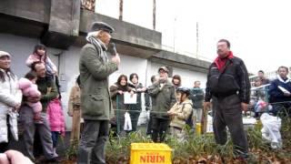 2012/01/22 ジブリ芸人いずみ包です。 とうとう宮崎駿監督の前で、ジブ...