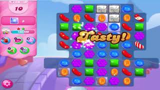 Candy Crush  Saga  level 697 Solution