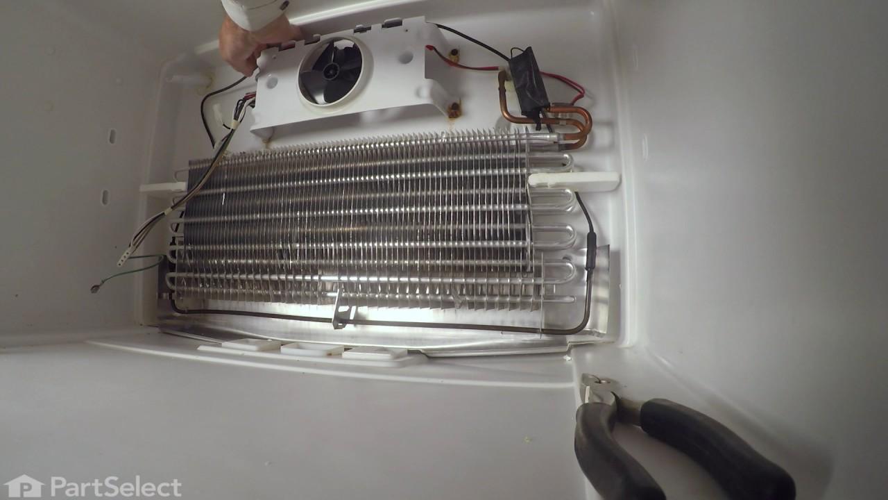 Refrigerator Repair Replacing The Defrost Heater