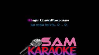 Saagar Kinare Unwind mix Karaoke | Arnab & Anwesshaa Sam Karaoke