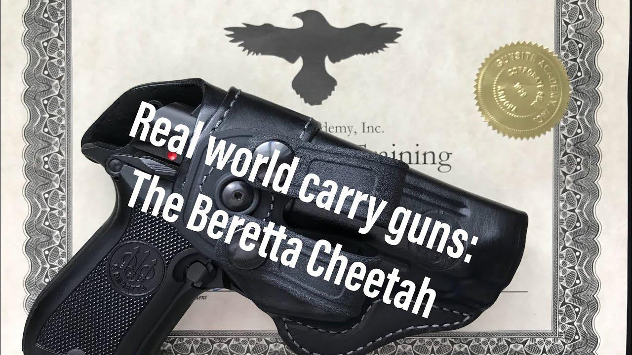 Real World Carry Guns: The Beretta 84 Cheetah