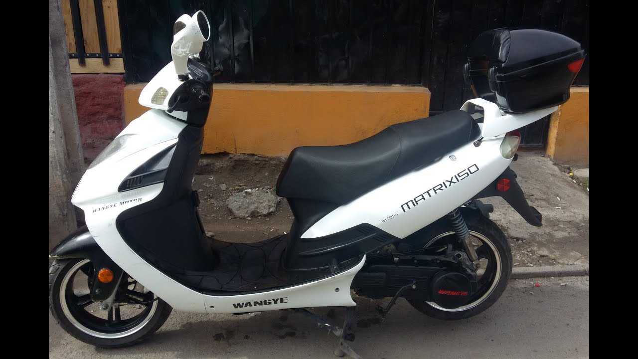moto scooter matrix evo 150