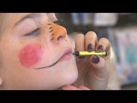 Make it Monday: DIY scarecrow makeup tutorial