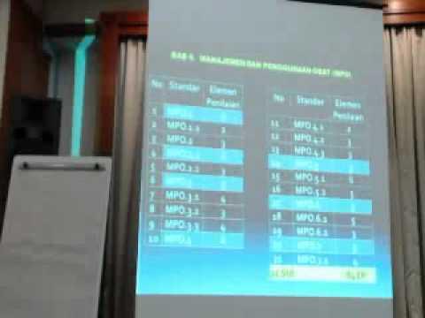 Workshop Instrumen Akreditasi Rumah Sakit 2012 (3) - dr. Koesno Martoatmodjo