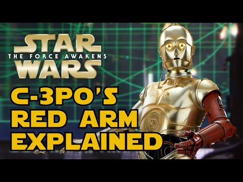 How C-3PO Got His Red Arm (Canon) - Star Wars Explained