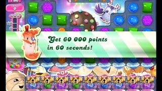 Candy Crush Saga Level 1409 walkthrough (no boosters)