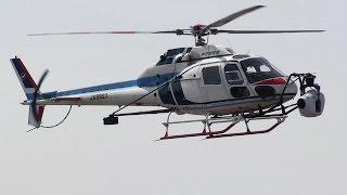 Helicopter Aerospatiale AS355F2 JA9963 中日本航空 ジャイロン搭載ヘリコプター