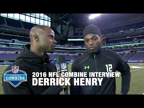 Derrick Henry (Alabama, RB) Reflects on Impressive Combine Performance | 2016 NFL Combine Interview