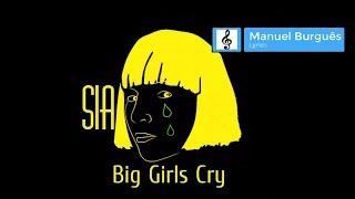SIA - Big Girl Cry | Lyrics video