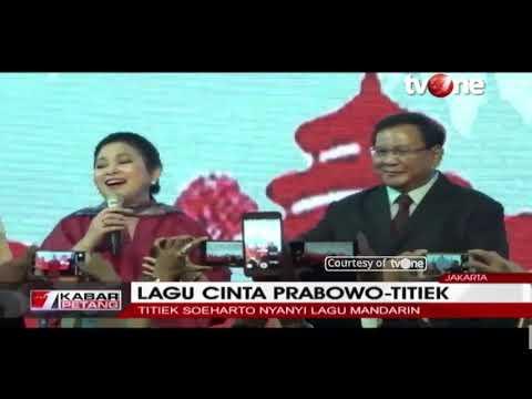 Titiek Soeharto Senandungkan Lagu Cinta Berbahasa Mandarin di Hadapan Prabowo Mp3