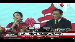 Download Video Titiek Soeharto Senandungkan Lagu Cinta Berbahasa Mandarin di Hadapan Prabowo MP3 3GP MP4