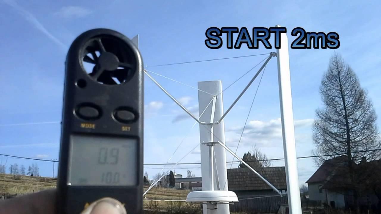 Simple VAWT wind power generator | Hackaday io
