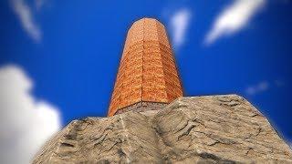 SOLO RAIDING a SKYSCRAPER on the TOP of a MOUNTAIN!