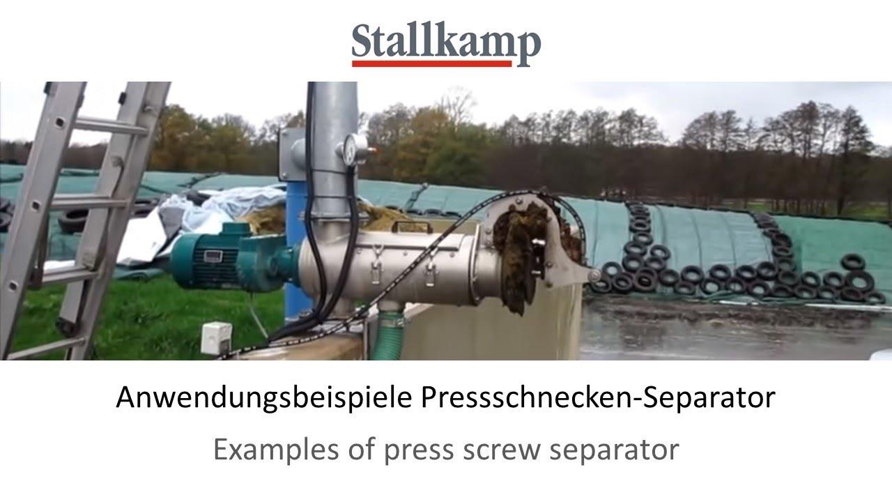 screw examples. Examples Of Stallkamp Screw-Press-Separators Screw