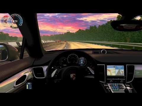 City Car Driving Porsche Panamera Turbo (Remake) - 1.2.5