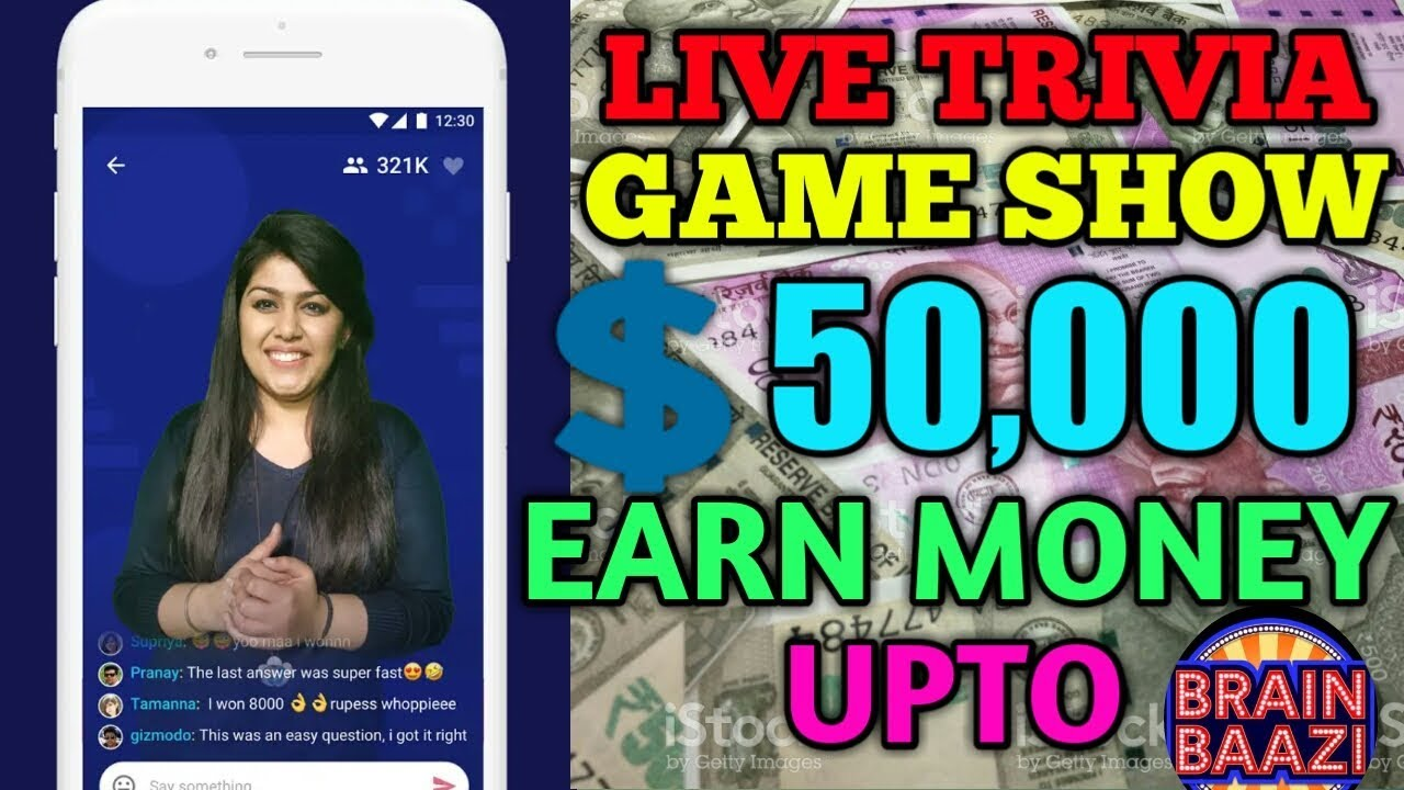 FREE LIVE QUIZ GAME SHOW | EARN DAILY CASH | SIMPLE GK QUIZ