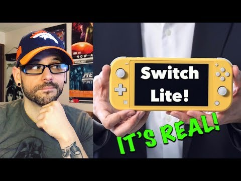 Nintendo Switch LITE finally revealed! Not 1080p? Here are my thoughts... | Ro2R