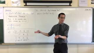 Remainder & Factor Theorems (3 of 4: What happens when the remainder is 0?)
