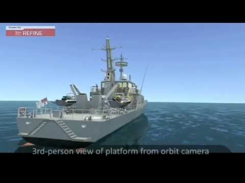 REFINE - Realtime Engineering Fleet Training Interactive Naval Environment