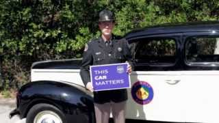 THIS CAR MATTERS: 1940 Ford Patrol Car