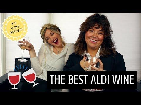 The BEST Aldi Wine!   Aldi Wine Review