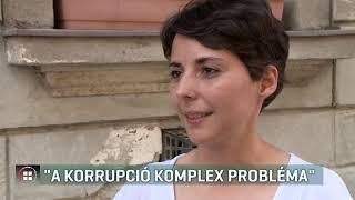 Jancsó Andrea: A korrupció komplex probléma 19-08-09