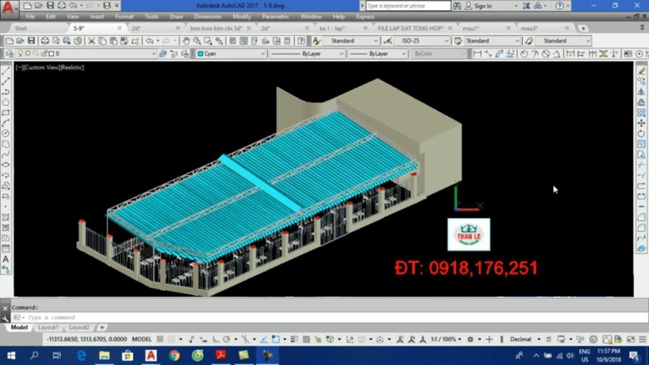 Dạy vẽ AutoCAD 3D – Bài 1: Những kiến thức mở đầu không thể bỏ qua
