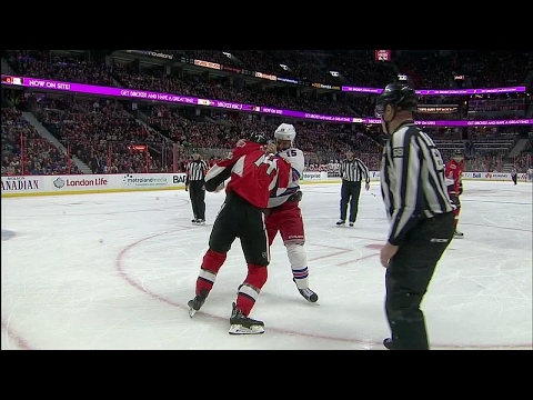 Borowiecki lays questionable hit on Buchnevich, answers for it soon after