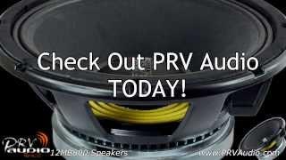 prv audio 12mb800 mid bass speakers    18 prv drivers going insidethe iraggi alternator suburban