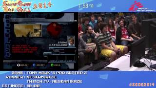Summer Games Done Quick 2014 - Part 107 - Tony Hawk's Pro Skater 2