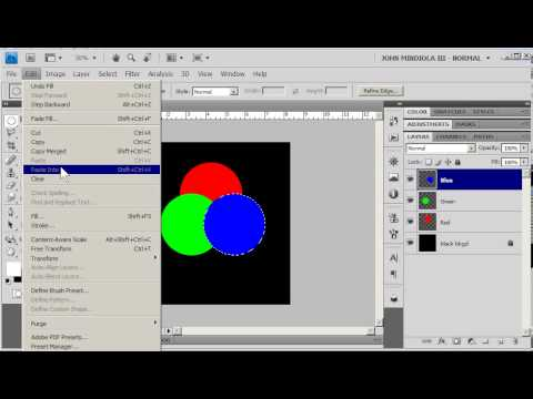 Photoshop Additive Color Wheel Simple Youtube