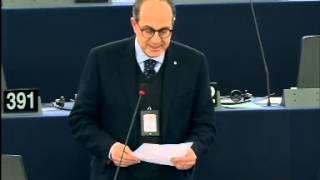 Intervento in aula di Paolo De Castro sull'indicazione del paese di orgine dei prodotti carnei