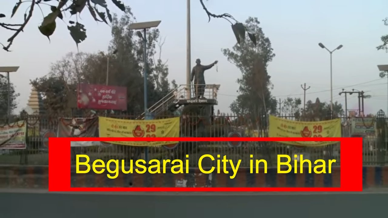 Begusarai City in Bihar