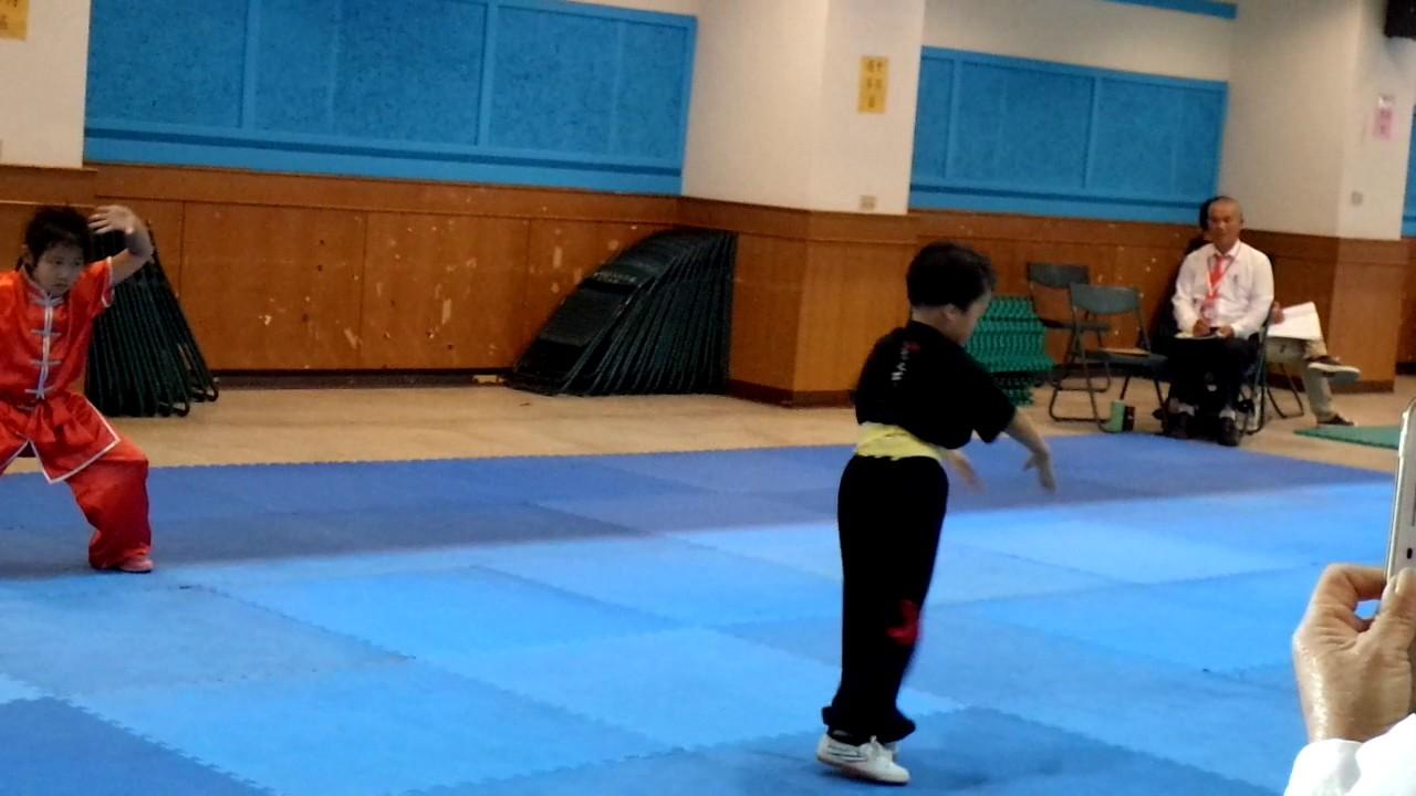 王柏雅 (幼幼女 拳術 五步拳第1名) 2016年 孫逸仙盃 全球武術大賽