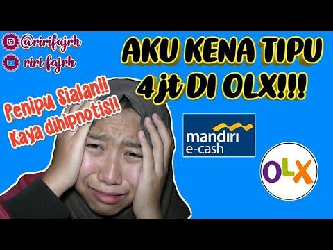 PENIPUAN MODUS MANDIRI E-CASH DI OLX 2018 *HATI-HATI!!    Riri Fajrh