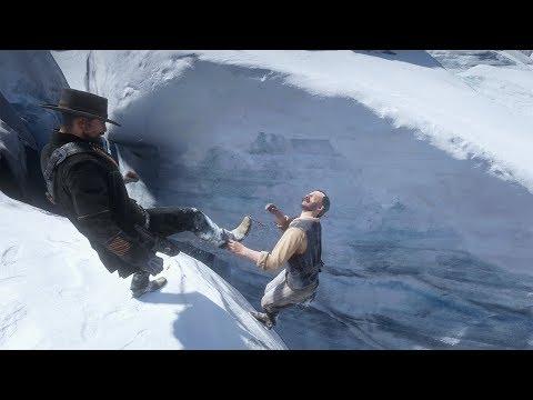 Red Dead Redemption 2 PC 60FPS - Funny & Brutal Moments Vol. 51 (Euphoria Ragdolls)