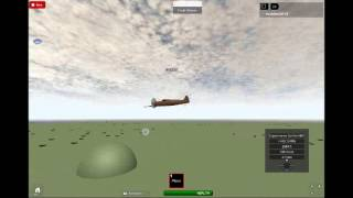 Roblox- Roe Flight Simulator Review: Supermarine Spitfire MkV