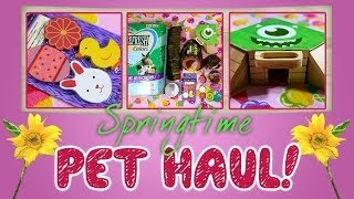 Springtime Pet Haul! Thumbnail
