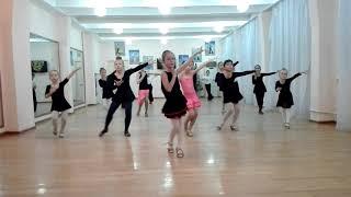 Контрольный урок по бальным танцам танец самбо тренаж.