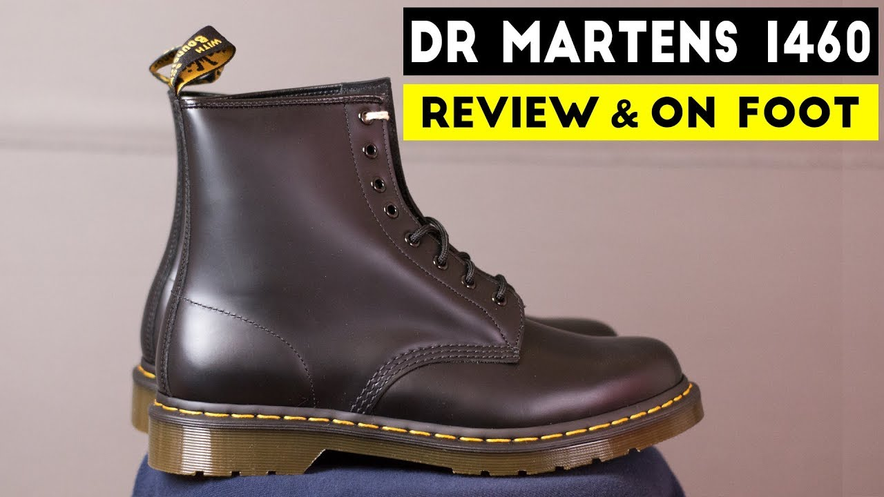 e3c44eeed5 Dr Martens 1460 | Review & On Foot | Groupon Steal $80! - YouTube