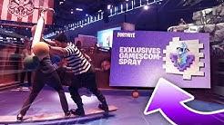 Fortnite gamescom CHALLENGES schaffen & EXKLUSIVES gamescom Spray bekommen