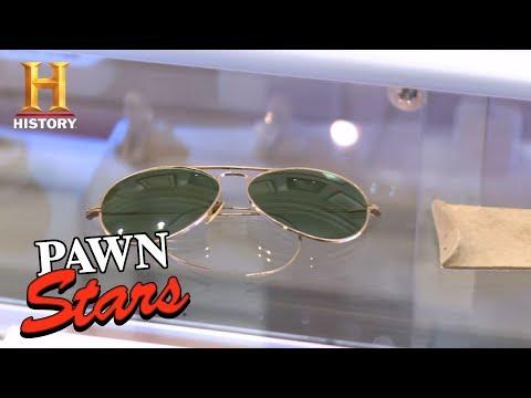 Pawn Stars: George Bush's Sunglasses   History